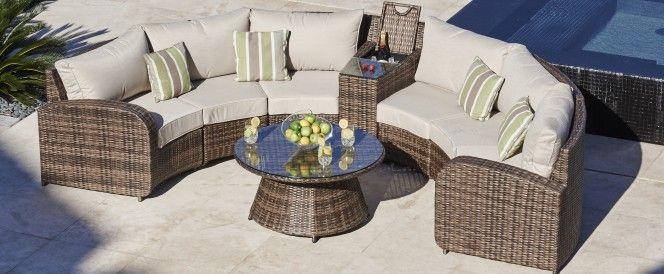 rattan half moon sofa set karlstad 2 seat cover arc 1 rattangardenfurniture outdoorliving garden