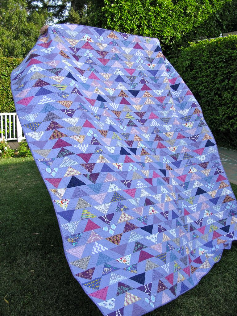 * I love flying geese quilts; and this is a beauty