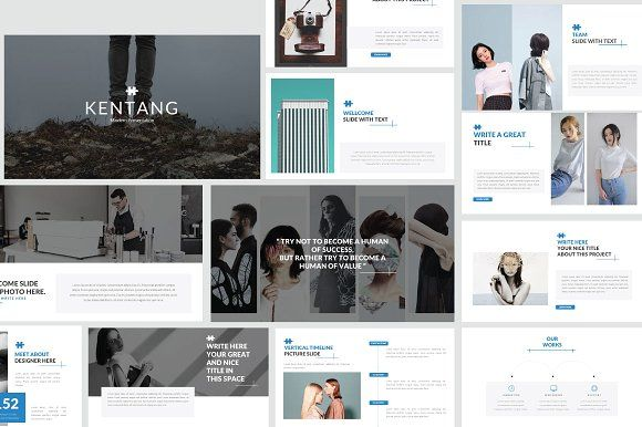 Kentang - powerpoint by Rits Studio on @creativemarket - professional power point template