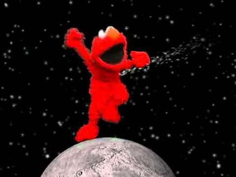 Elmo Dancing On The Moon Elmo Save The Last Dance