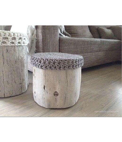 baumstamm couchtisch hocker beistelltisch von natuerlich gebraucht auf sch ner. Black Bedroom Furniture Sets. Home Design Ideas