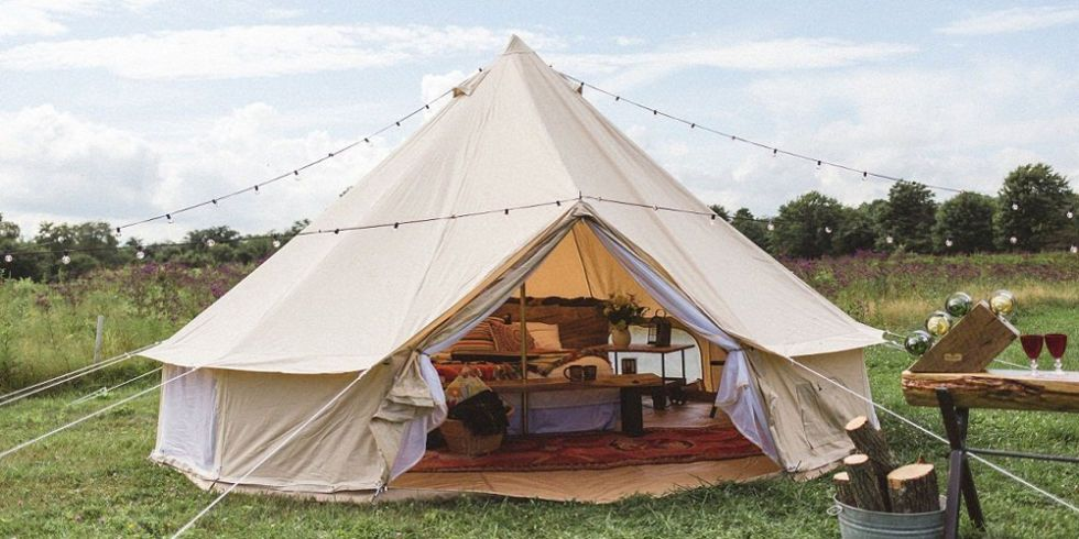 Live in the Lap of Luxury With These 11 Gl&ing Tents : live in tents - memphite.com