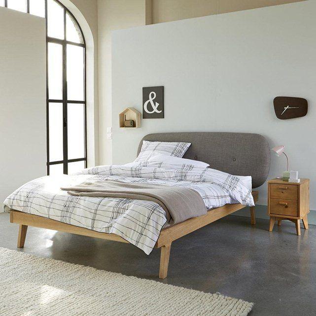 tete de lit la redoute simple la redoute interieurs tte de lit droite recouvrir gatine la. Black Bedroom Furniture Sets. Home Design Ideas