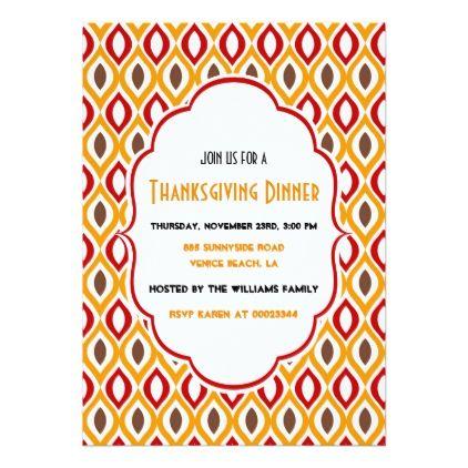 thanksgiving invite thanksgiving day family holiday decor design