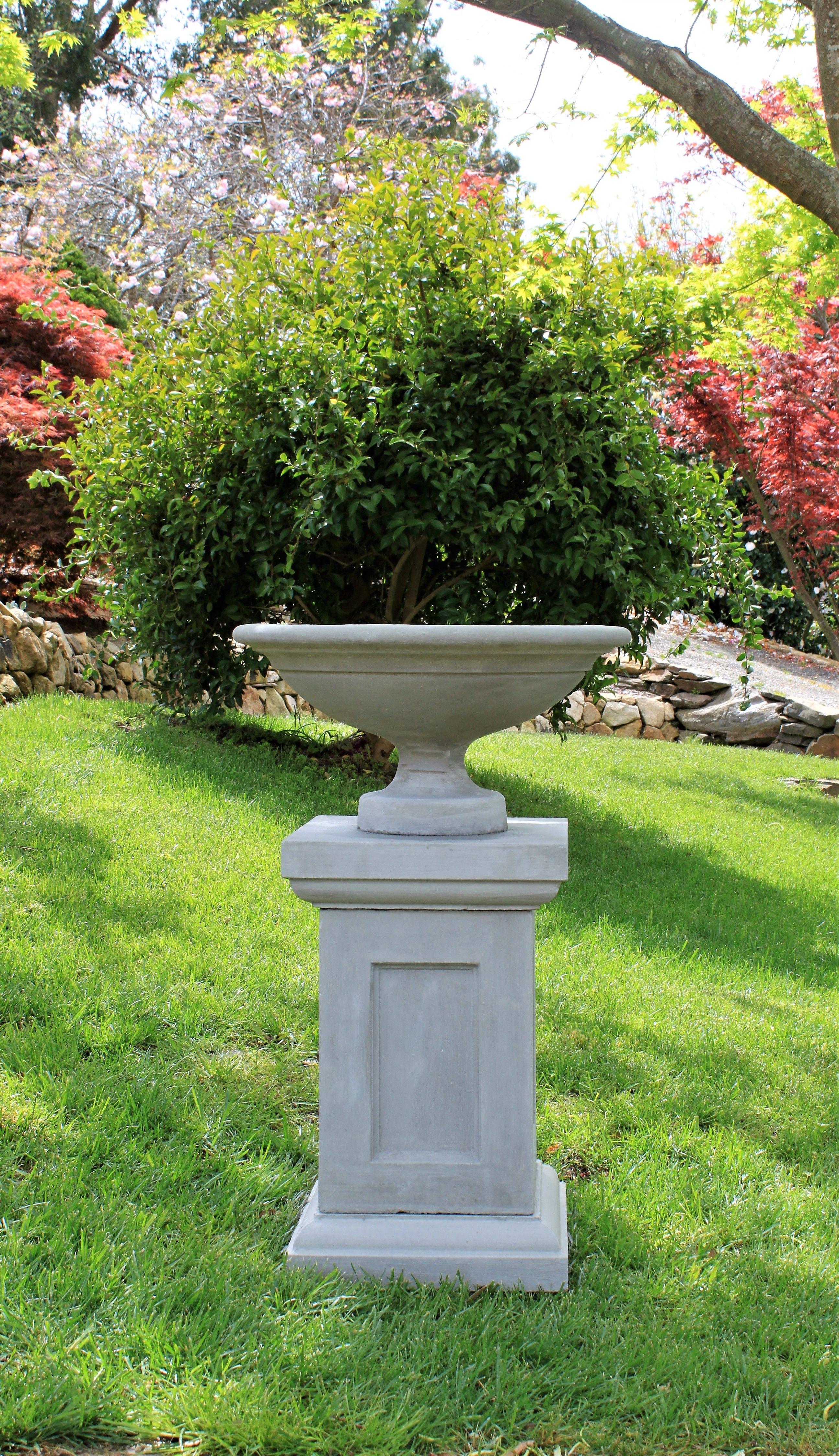 ornament column pedestal lawn pin kenroy patio home garden amazon statues com outdoor square