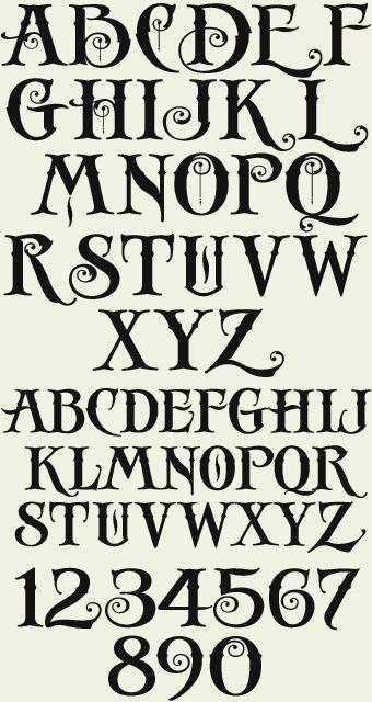 Letterhead Fonts / LHF Antique Shop / Decorative Fonts | Fonts ...
