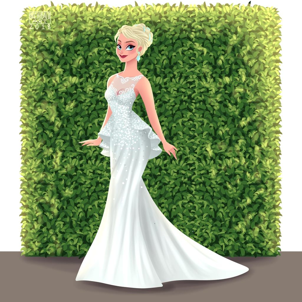 This Artist Reimagined Disney Princesses As Brides And I Could Stare At Their Gowns For Hours Disney Princess Wedding Dresses Disney Princess Fashion Disney Princess Wedding [ 1024 x 1024 Pixel ]