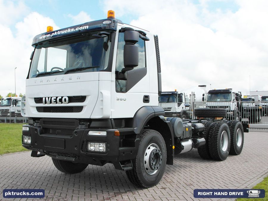 5 Units Iveco Trakker Ad380t38h 6x4 Chassis Cabin New Price 80 000 Axles 6x4 Emission Euro 3 Cabin Active Day Water Tank Truck Trucks Water Tank