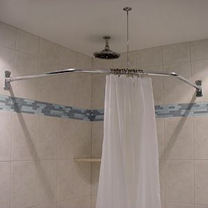 48 X 48 X 48 Neo Angle Shower Rod Neo Angle Shower Shower