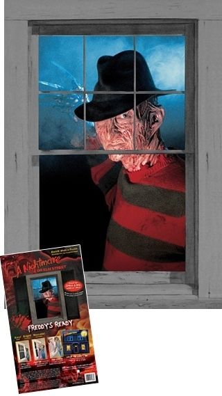 freddy krueger wowindows window poster cling silhouette halloween decoration wowindows us 999 wowindow posters are - Freddy Krueger Halloween Decorations