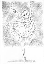 Anime Ballerina Drawing Google Search Ballerina Drawing