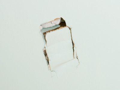 comment boucher un trou dans du placo? | trou, cloisons et plafond
