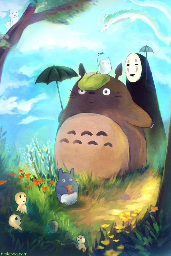 Ghibli by brbianca.deviantart.com on @deviantART Nice work!