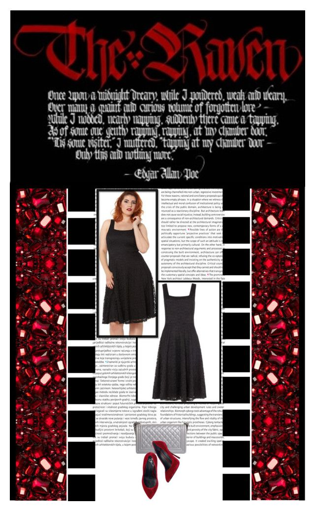 """The Gothic Shop (33)"" by irresistible-livingdeadgirl ❤ liked on Polyvore featuring Voodoo Vixen, Chanel, Giuseppe Zanotti, Dolce&Gabbana, Dark, goth, GiuseppeZanotti, metallic and TheGothicShop"