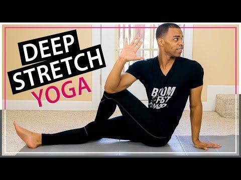 15 min quick  easy full body deep stretch yoga workout
