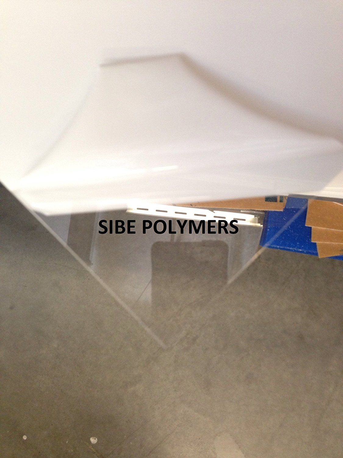 Sibe R Plastic Supply Clear Acrylic Plexiglass 24 X48 1 16 0 060 Plastic Sheets Acrylic Plastic Sheets Clear Acrylic
