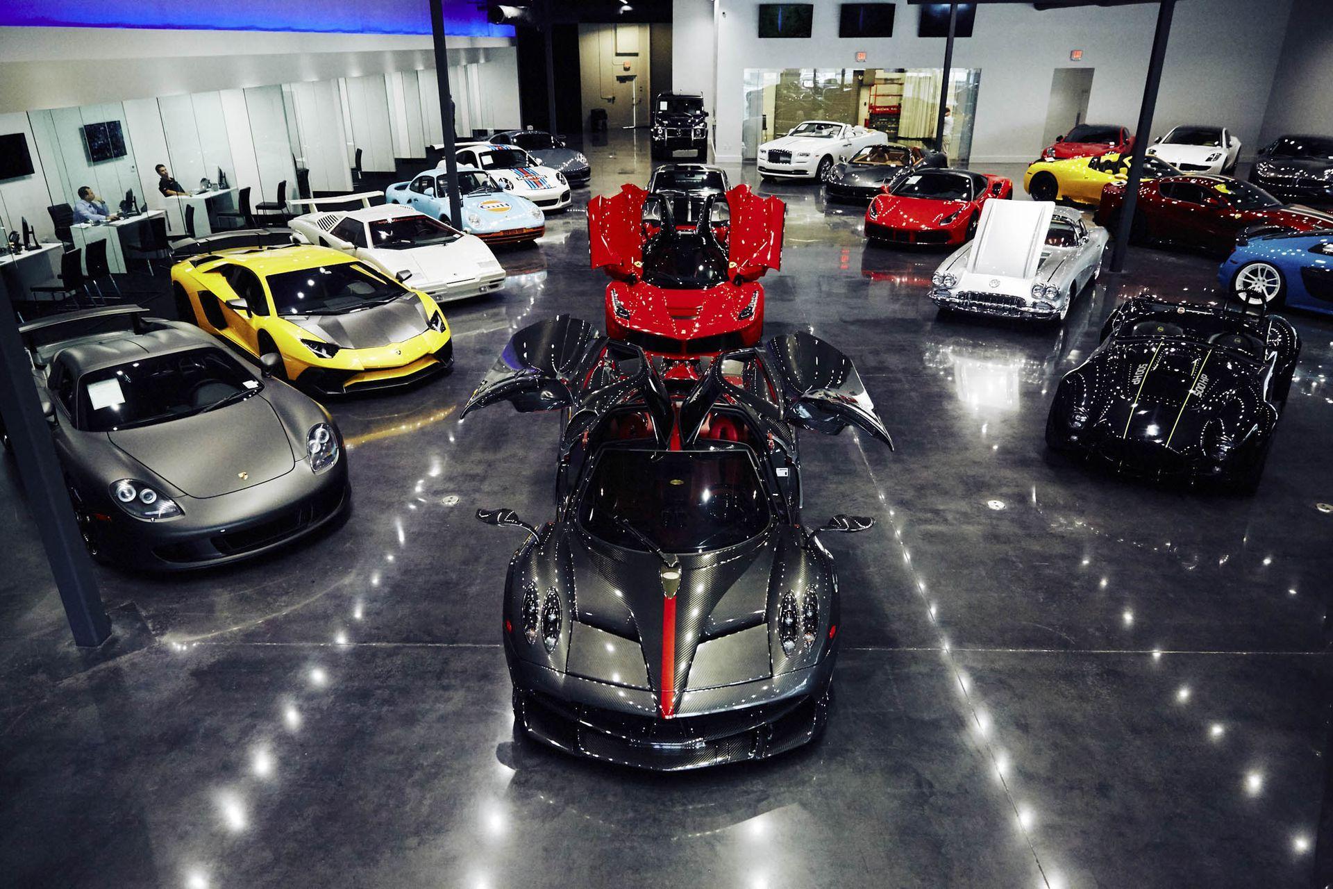 Local Garage Chinese Supercar Dealership Fff Automobile 002 Supercar Dealership Super Cars Automobile