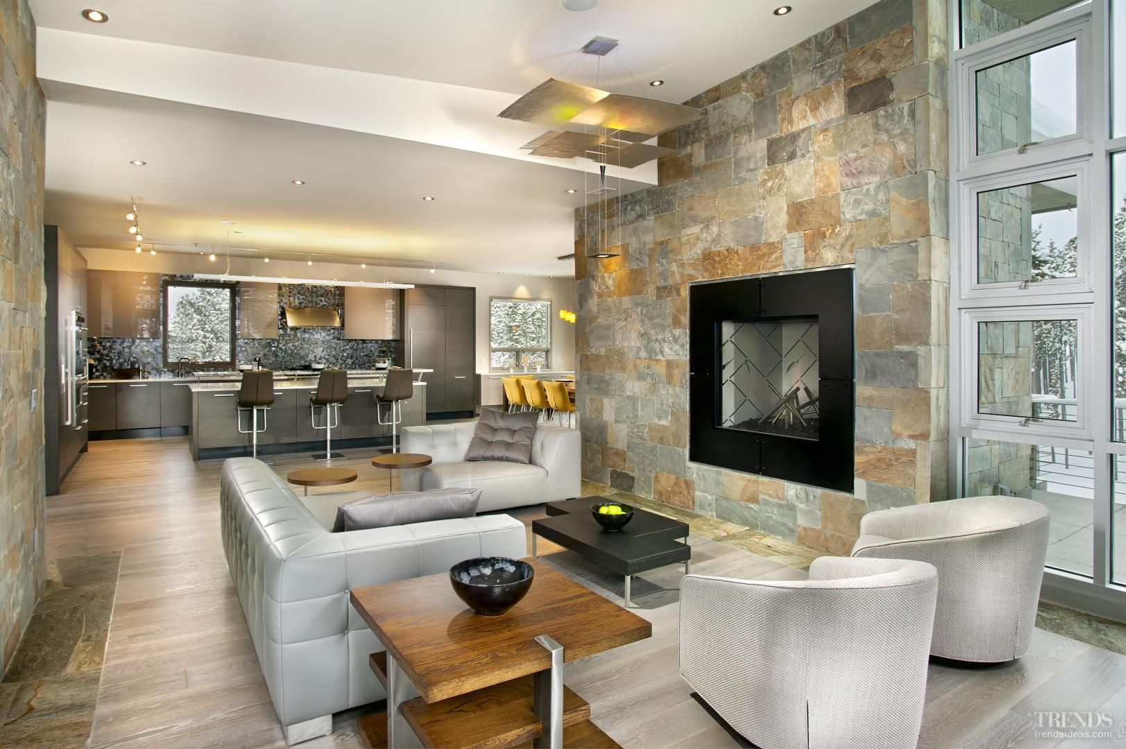 Balanced menu - kitchen with beautiful outlook by New Mood Design ...