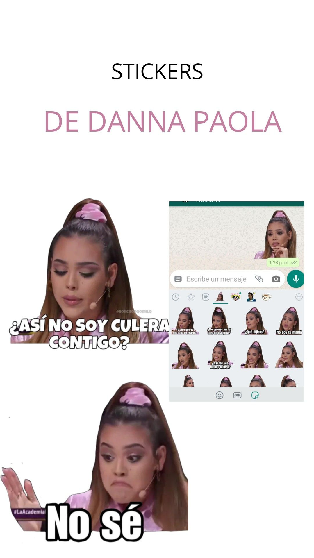 Stickers De Danna Paola Imagenes Divertidas Para Whatsapp Fotos Chistosas Para Whatsapp Caras Para Stickers