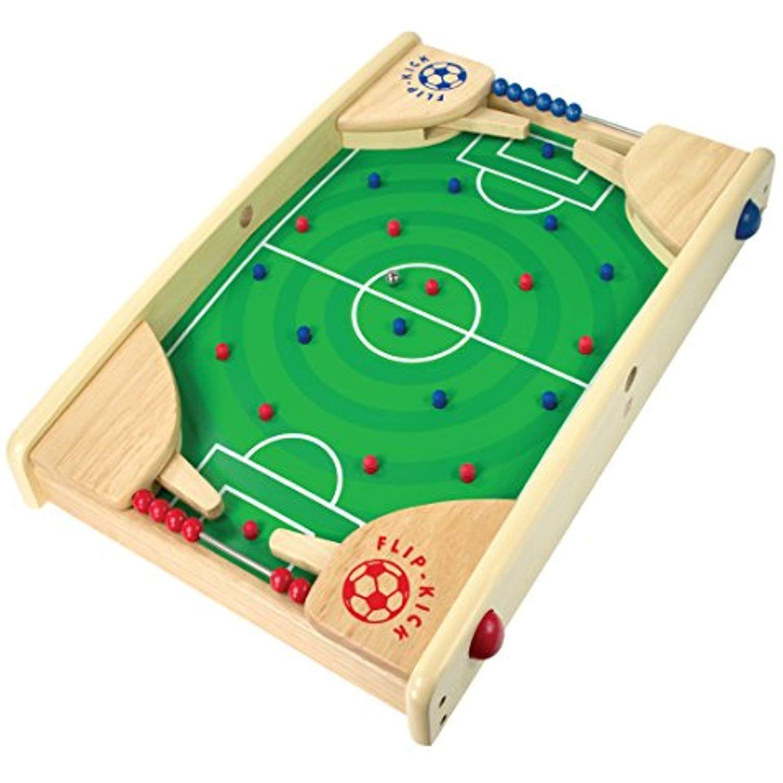 I'M Wooden Tabletop Football/Soccer Pinball Games, Indoor