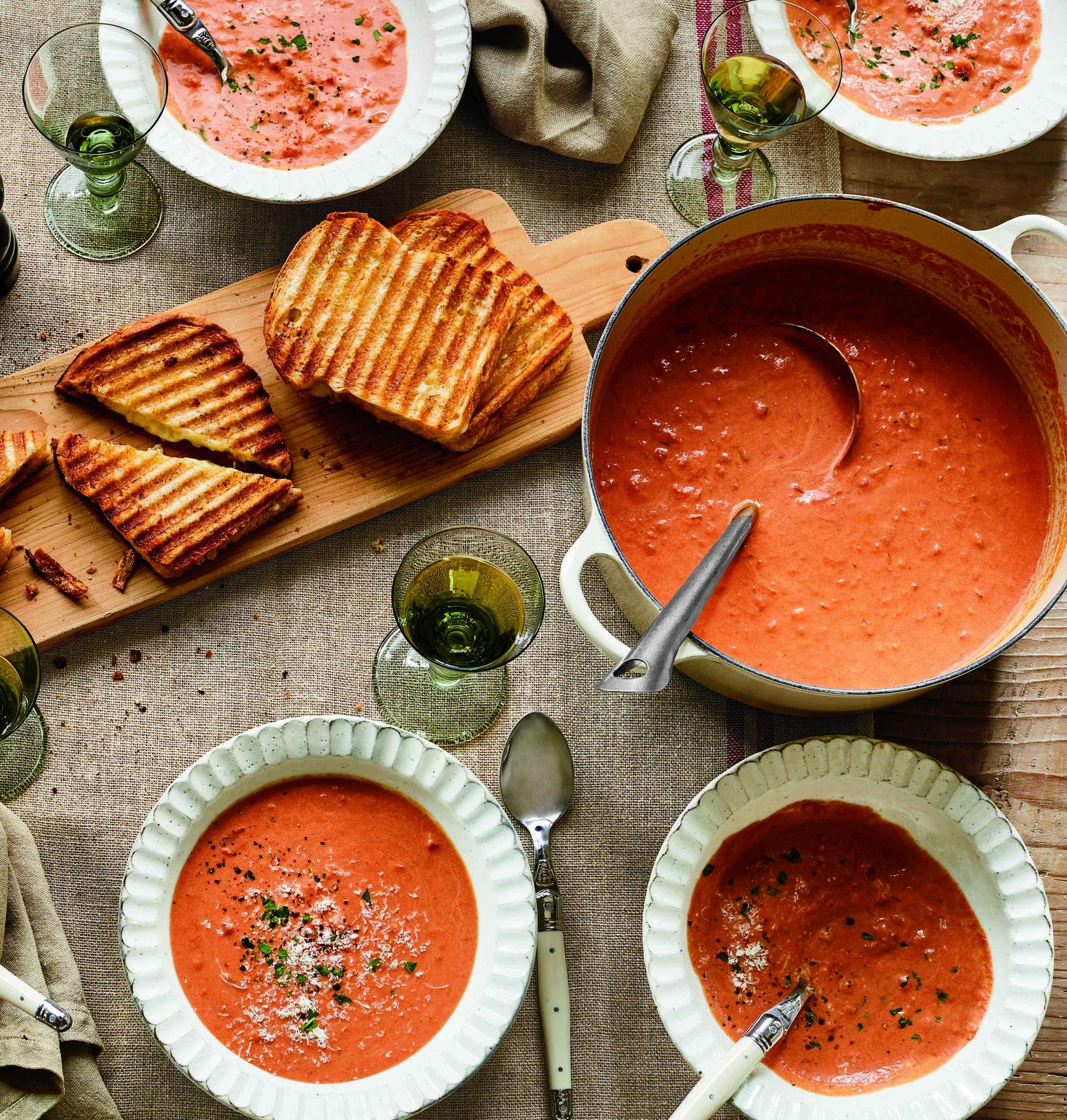 Ina Garten's Creamy Tomato Bisquecountryliving