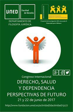 La UNED organiza el Congreso Internacional 'Derecho, Salud y Dependencia. Perspectivas de futuro'