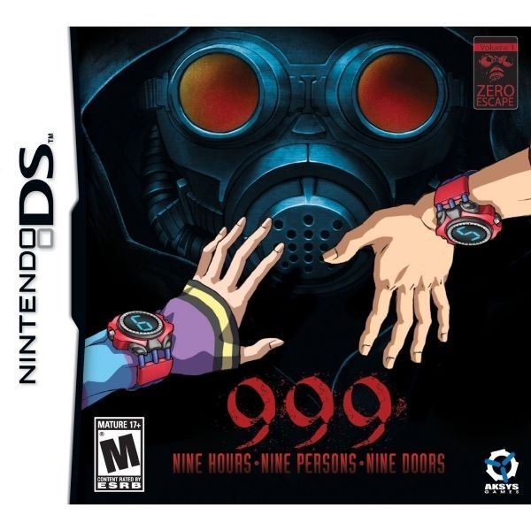 999 9 Hours 9 Persons 9 Doors Game Ds Brand New Nintendo Ds