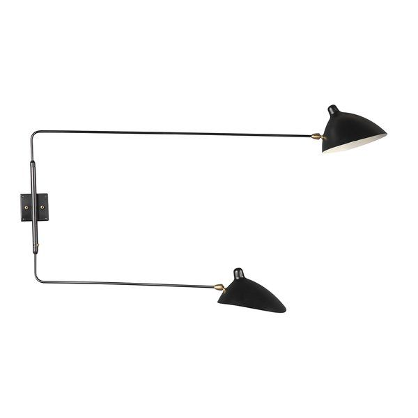You Ll Love The Kragero 2 Light Swing Arm At Allmodern With Great Deals On Modern Lighting Products And F Swing Arm Wall Light Wall Lamp Swing Arm Wall Lamps