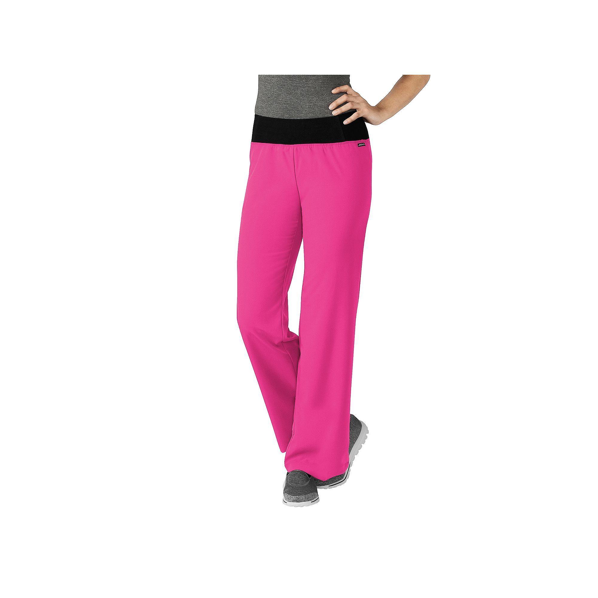 Women\'s Jockey Scrubs Modern Yoga Pants, Blue