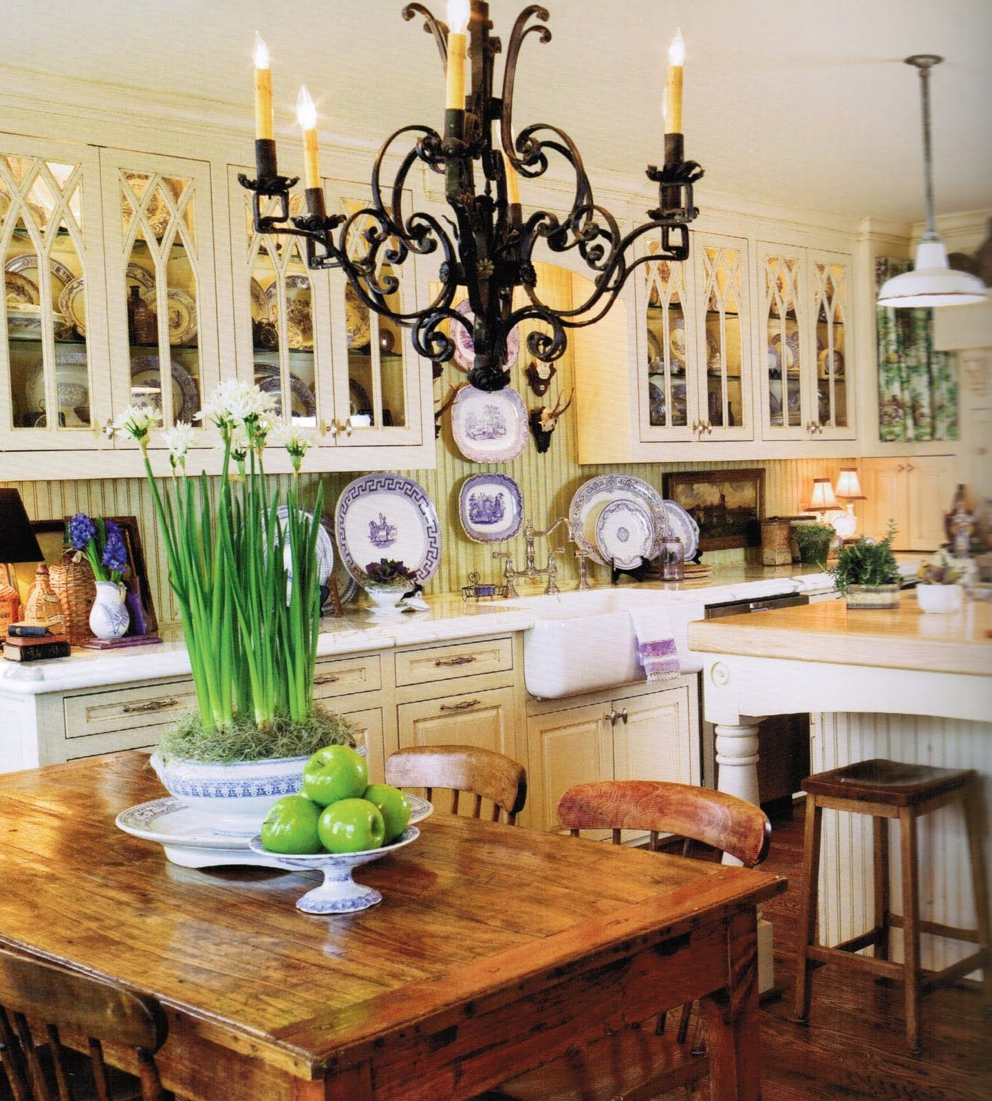 romantic kitchen decor country french french kitchens and kitchens