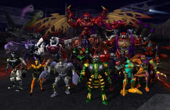 Transformers Beast Wars Predacons.