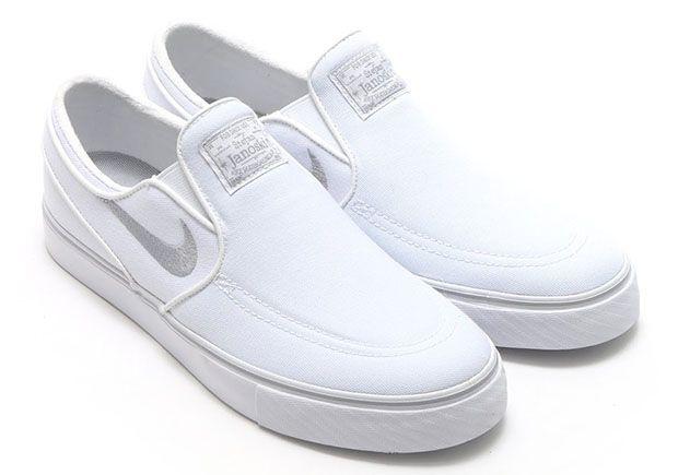 A Closer Look At The Nike SB Stefan Janoski Slip-On | Nike slip on ...