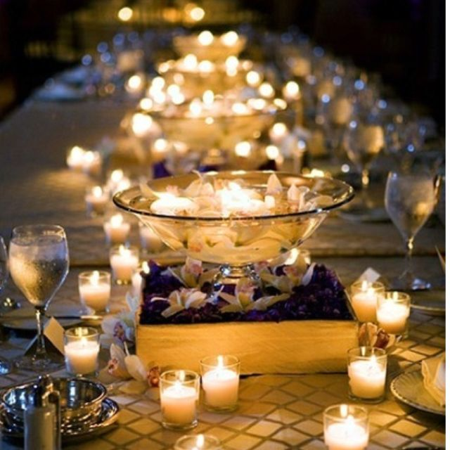 Candle Light Dinner Candle Light Pinterest Hochzeit Deko