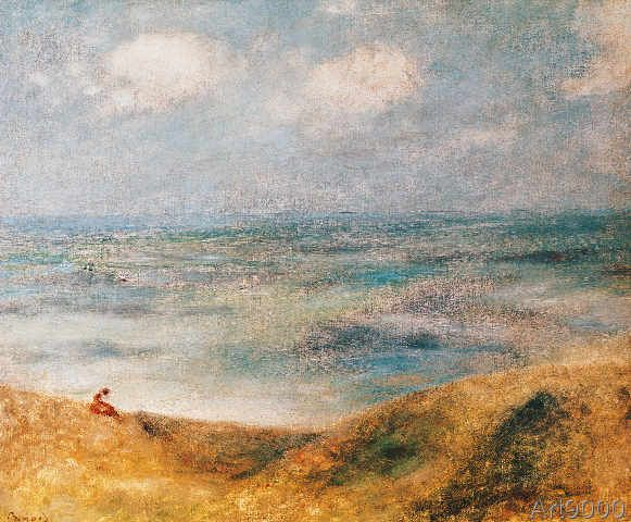Pierre Auguste Renoir - View of the Sea, Guernsey