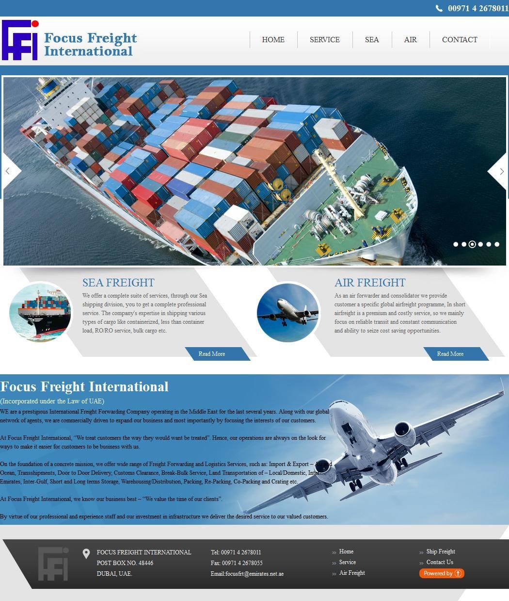 Focus Freight International Company Al Ghuwais Building, 17