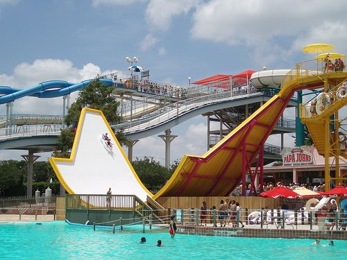 Hurricane Harbor S New Mega Wedgie Hurricane Harbor Best Vacations Vacation Places