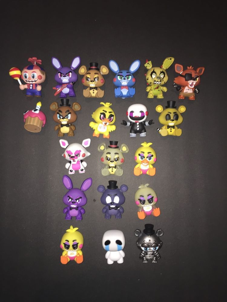 Funko Five Nights At Freddy S Mystery Minis Full 20 Pc Set