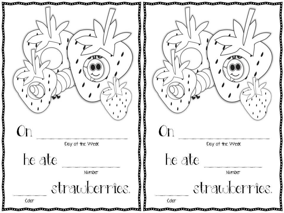 The Caterpillar That Ate All Week (Freebie Reader