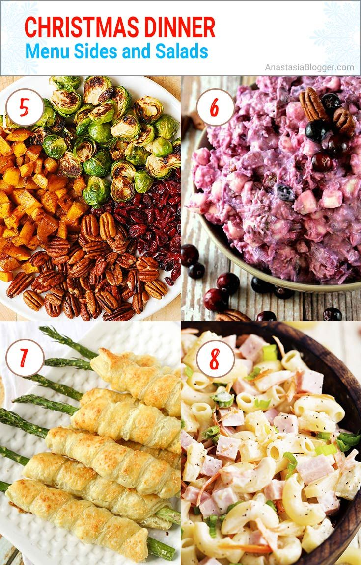 christmas dinner menu sides and salads easy and elegant traditional italian and southern christmas - Southern Christmas Dinner Menu Ideas