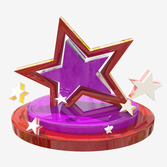 C4d Red Star Stage Star Colored Stars Stage Purple Png Transparent Clipart Image And Psd File For Free Download Colour Star Clip Art Star Clipart