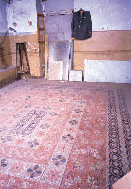 Old #Terrazzo #floor San Severino Marche (Mc), Italy. Grandinetti #terrazzotiles www.grandinetti.it