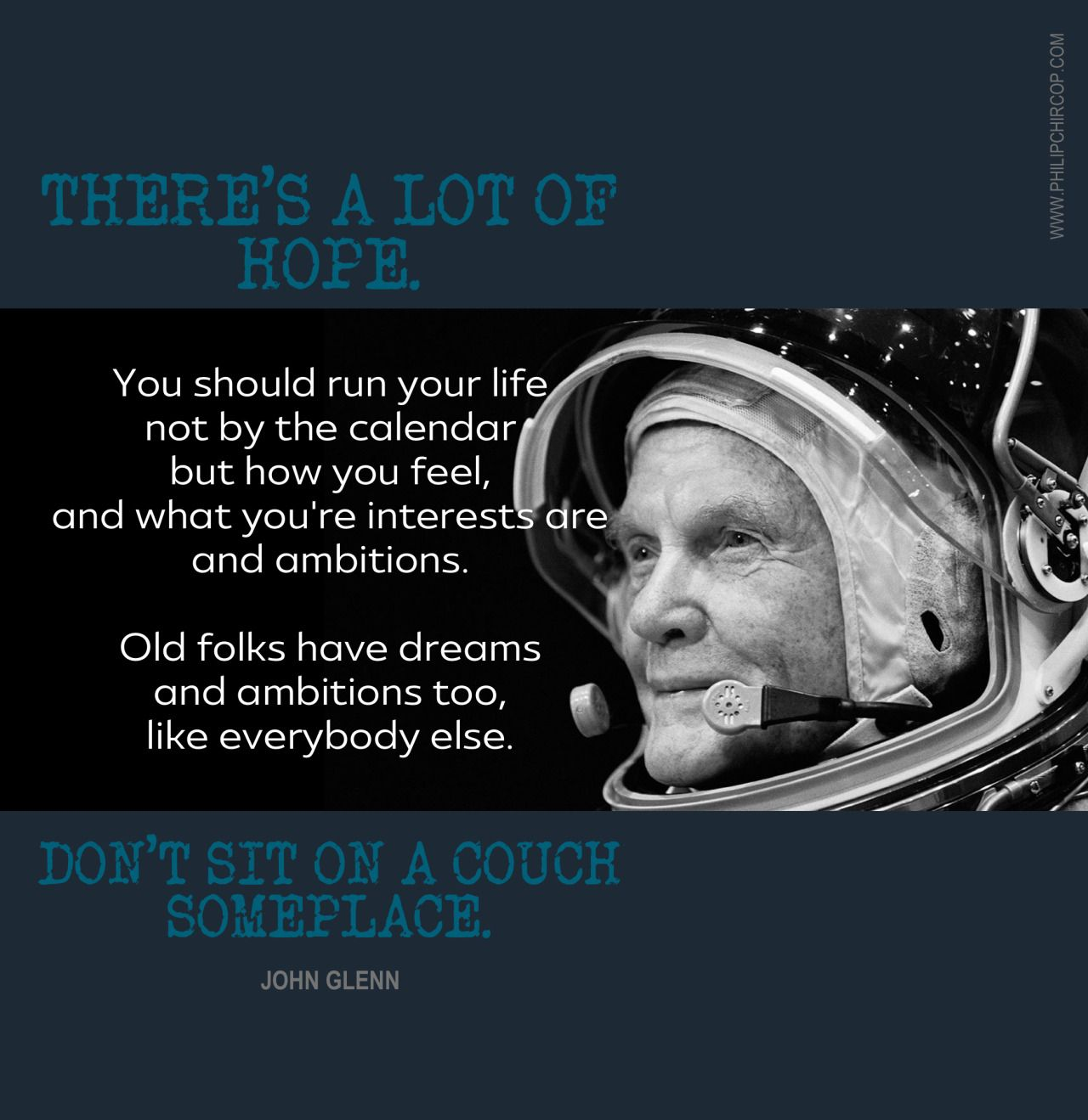 Memorable Quotes John Glennmemorable Quotes Ii • There's A Lot Of Hopeyou