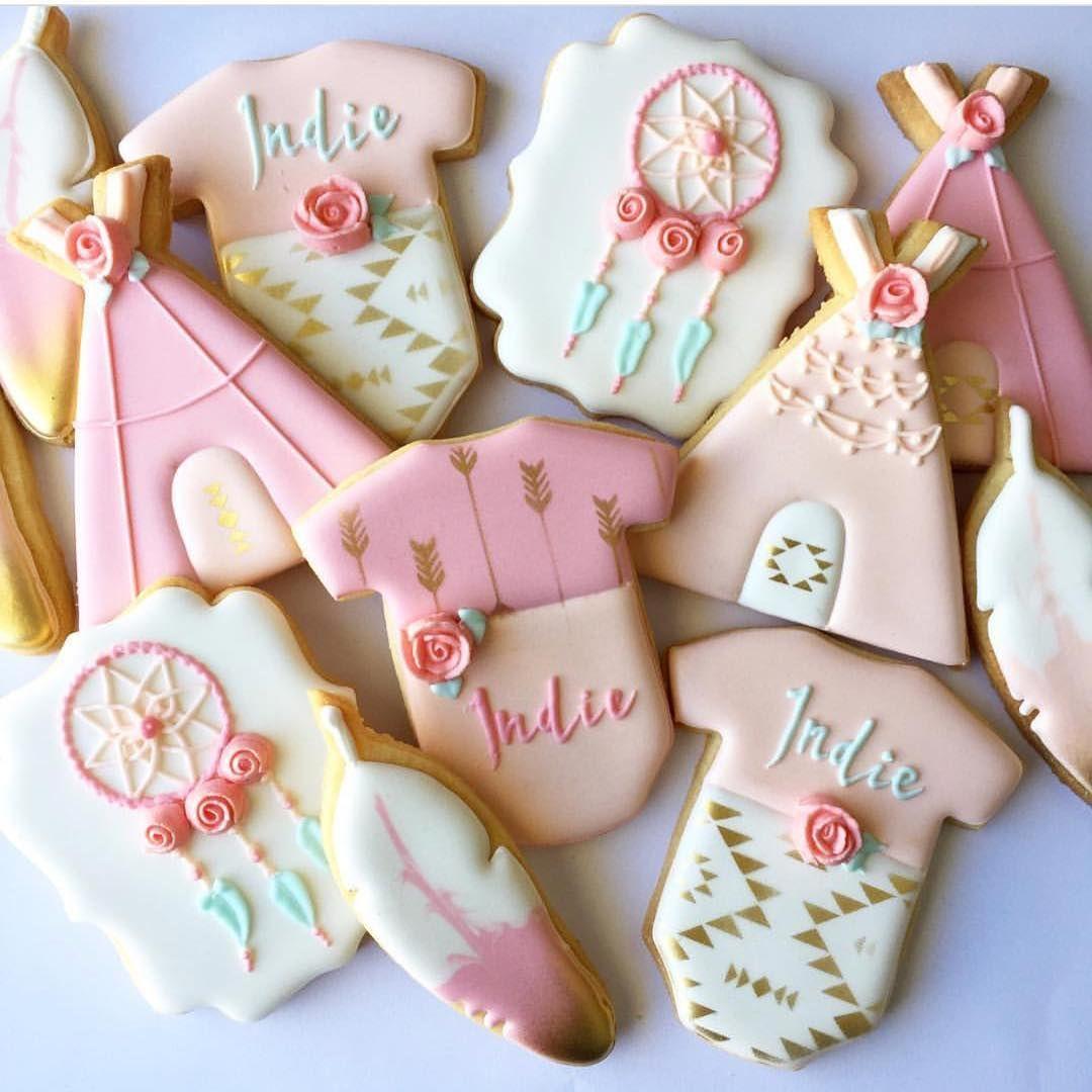 GORGEOUS Boho Baby Shower Cookies! See Instagram photos and videos ...