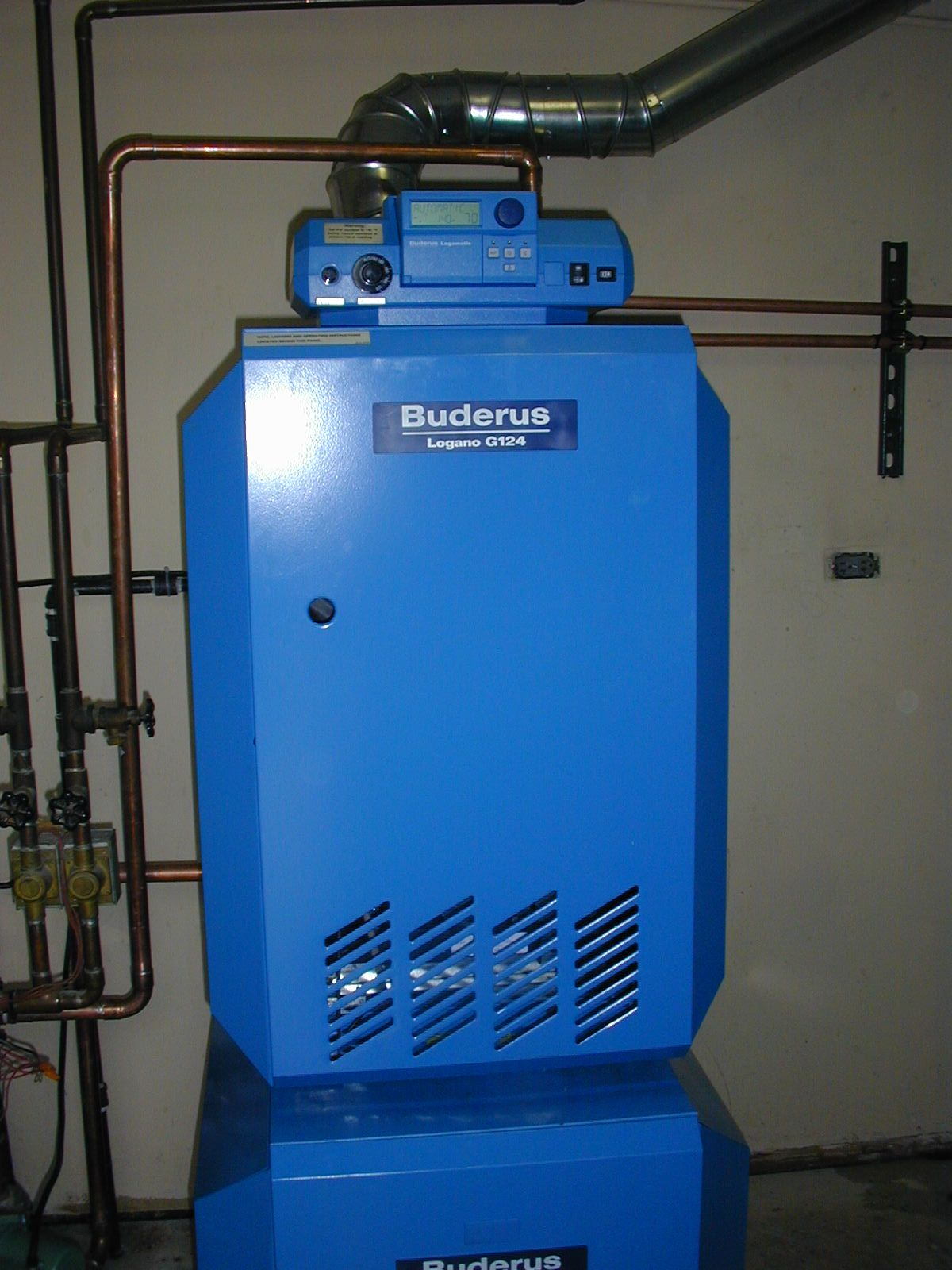 Buderus High Efficient Boiler With Domestic Hot Water
