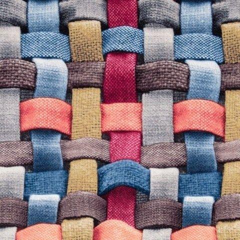 Ткань для обивки мебели, Флок/Микровелюр, Тиссаж 02 (с ...