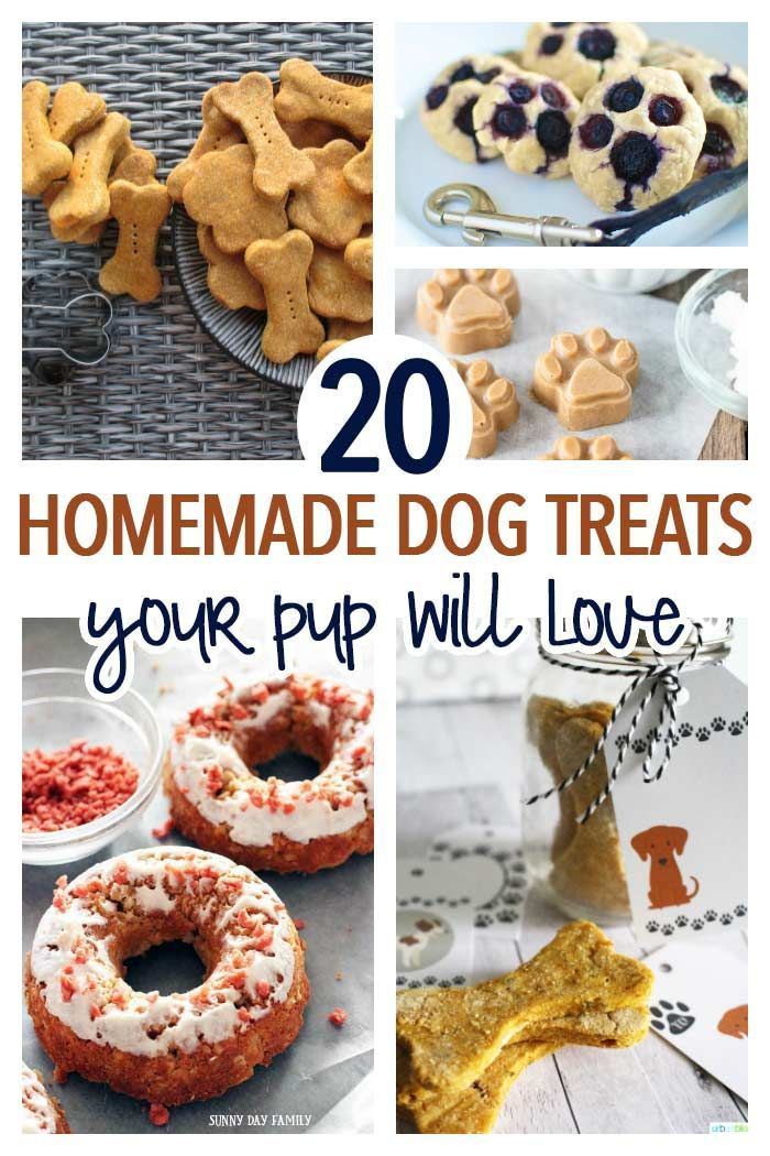 20 Simple Homemade Dog Treats Your Pup Will Love Puppy Stuff