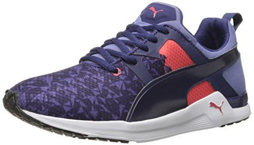 PUMA Womens Pulse XT Graphic Womens Training Shoe Astral AuraCayenne 85 B  US -- You