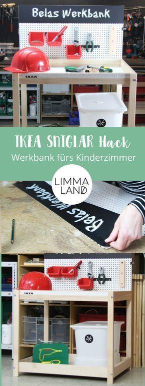 IKEA SNIGLAR Hack - aus Wickeltisch wird Kinder Werkbank ...