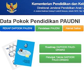 Mos Musyawarah Operator Sekolah Informasi Tentang Dapodik Paud Dikmas Sekolah Petunjuk Tanggal