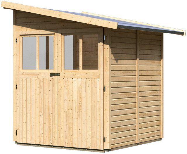 Weka HolzGartenhaus Bologna Natur B x T 340 cm x 200 cm